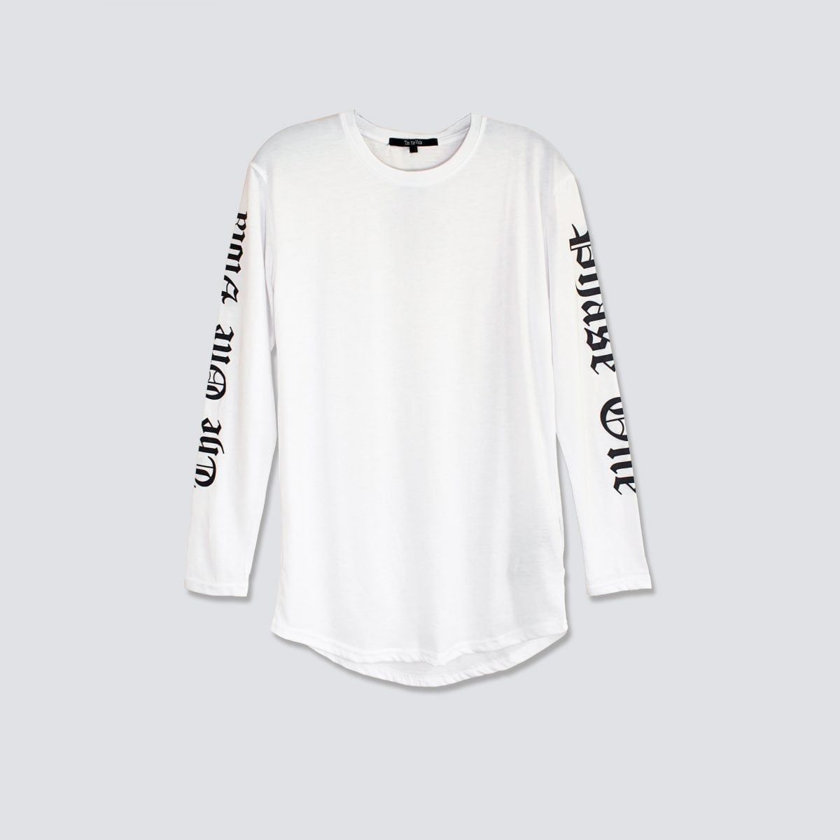 white long sleeve oversized shirt